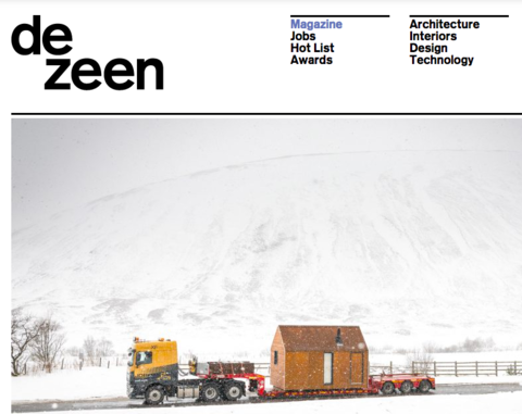 Feature in Dezeen